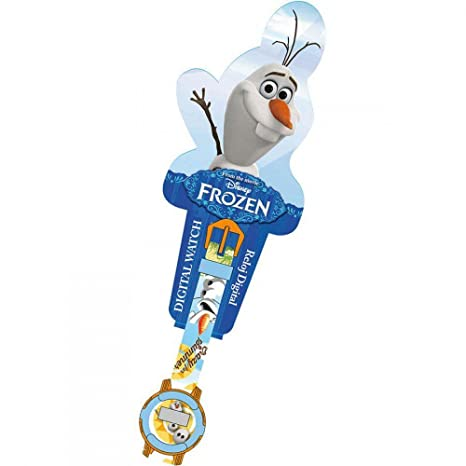 Image Unavailable. Image not available for. Color: Reloj Frozen Disney Olaf Digital