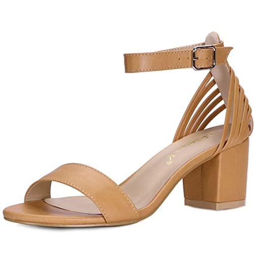 71723bc068c69 Allegra K Women's Multi Straps Ankle Strap Sandals