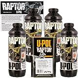 U-POL Raptor Tintable Urethane Spray-On Truck Bed Liner & Texture Coating, 4 Liters