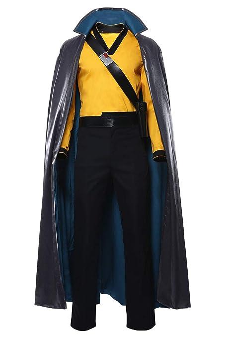RedJade Star Wars: The Rise of Skywalker Lando Calrissian Traje de Cosplay Disfraz Hombres XXL