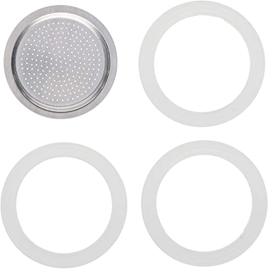 Bialetti Replacement Gaskets Tag Moka 12 Cups Gaskets Express Spare Parts