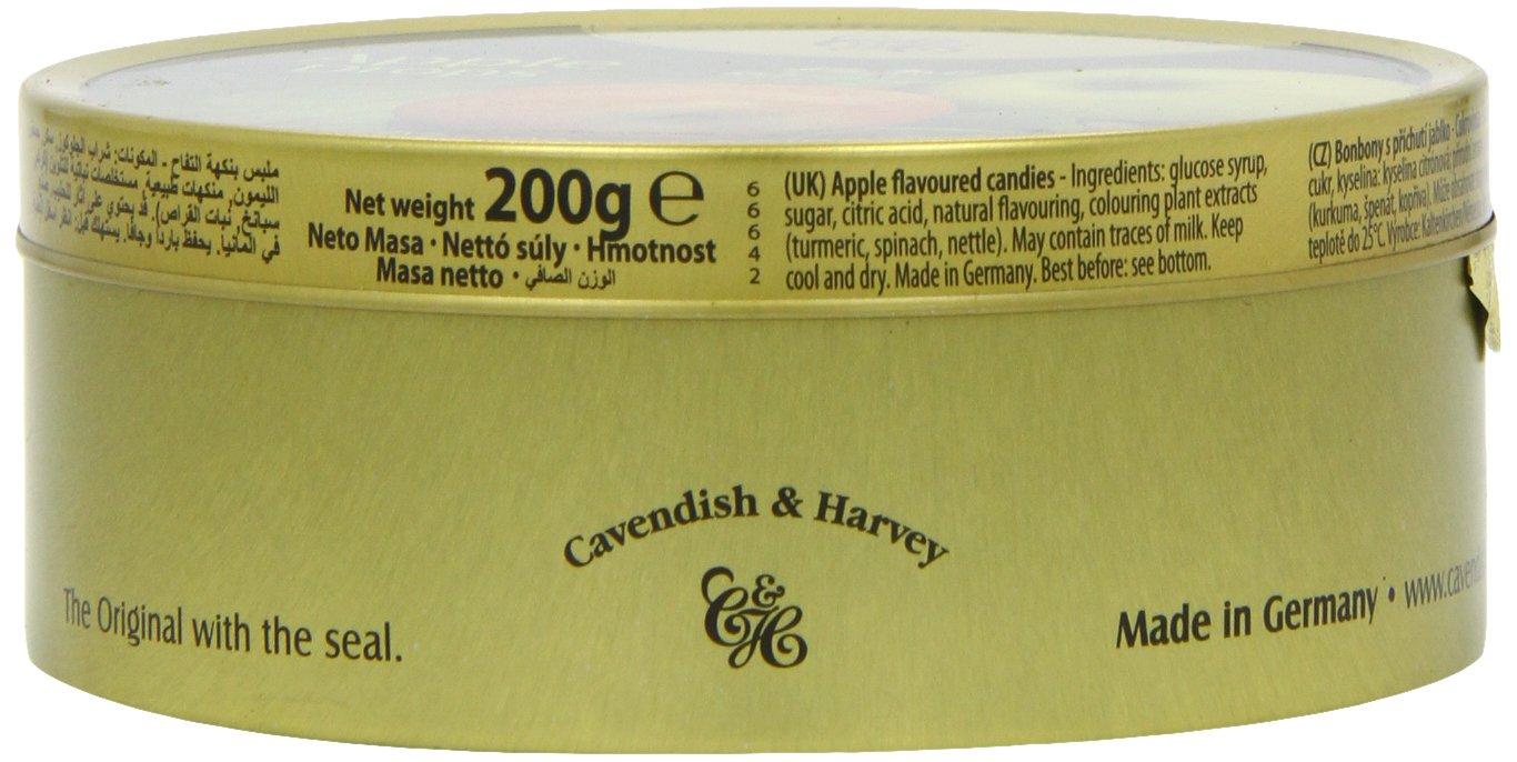 Cavendish Caramelos con Sabor a Manzana - 1 Paquete de 9 x 22.22 gr - Total: 200 gr: Amazon.es: Alimentación y bebidas