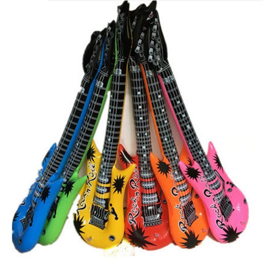 PVC hinchable Guitarra, 93 cm Aire rellena Juguetes Guitarra ...