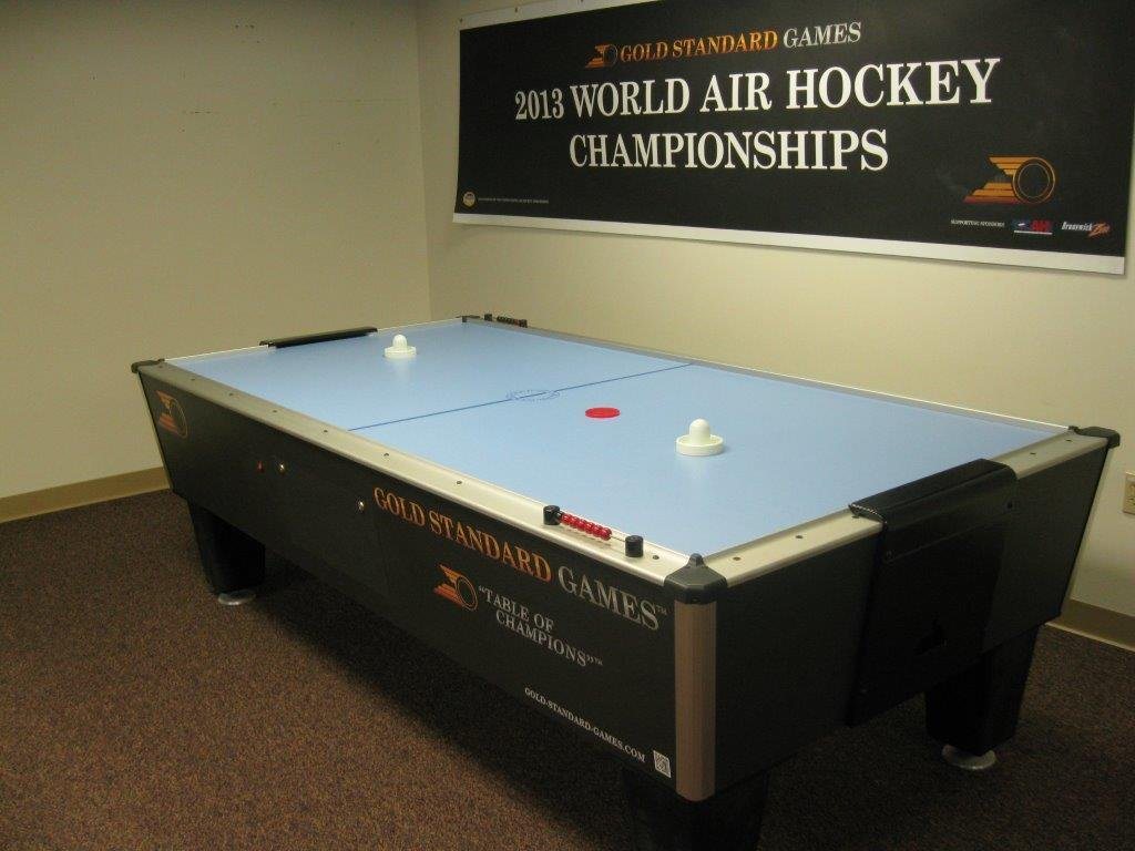 Gold Standard Games Tournament Ice Air Hockey Table (manual score)
