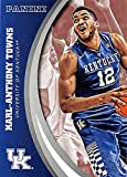 Karl-Anthony Towns basketball card (Kentucky Wildcats) 2016 Panini Team Collection #31