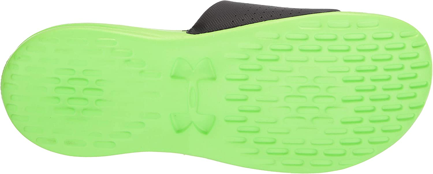 Under Armour Mens Playmaker Fixed Strap Slide Beach /& Pool Shoes