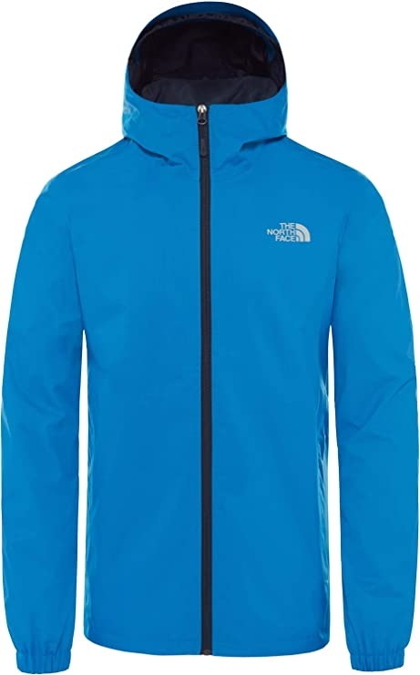 The North Face Quest Chaqueta, Hombre, Bomber Blue Black Heather, 2XL