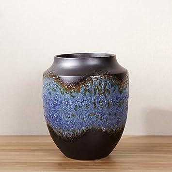 Amazon De Chinesische Keramik Vase Moderne Wohnzimmer Boden Dekoration