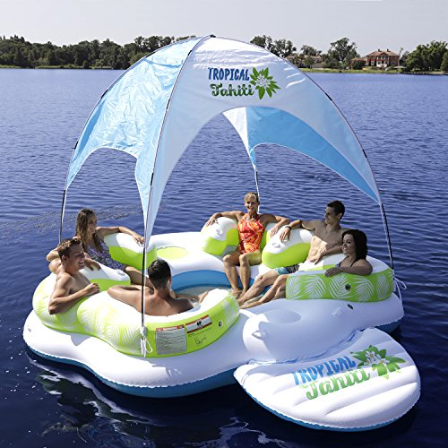 Top 10 Best Inflatable Floating Island Lounge Reviews 2018