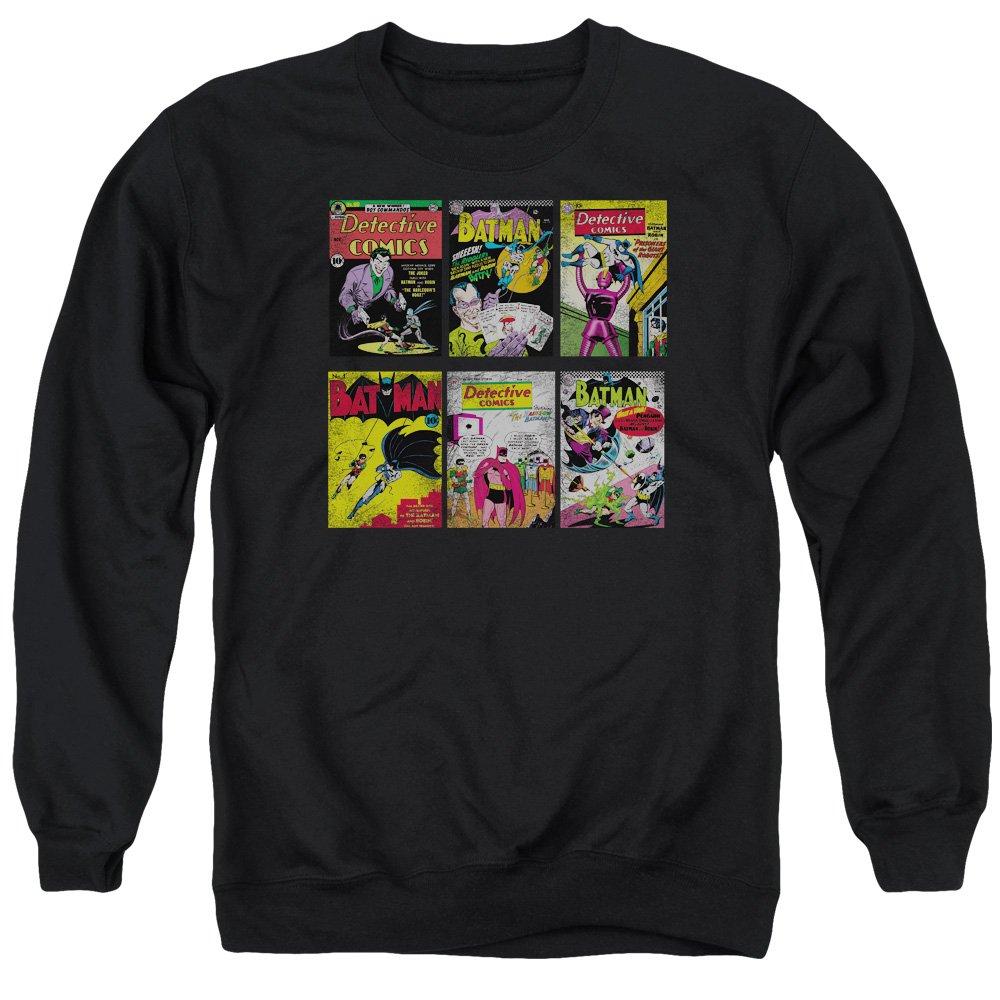 Batman Mens Bm Covers Sweater