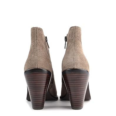 e0f1c9531667e Ash Shoes Ivana Stone Suede Ankle Boot 38EU 5UK Stone  Amazon.co.uk  Shoes    Bags