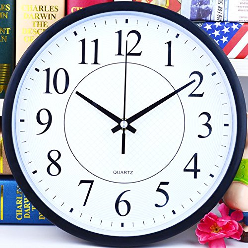 Silent wall clock children cartoon watch compas clocks simple creative living room bedroom clock clock,
