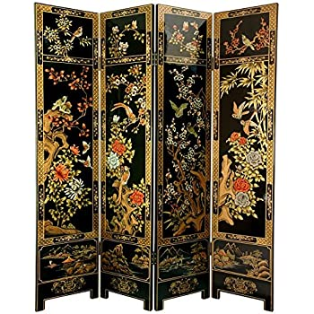 Amazon Com Mother Of Pearl Inlay Art Lacquer Finish Crane