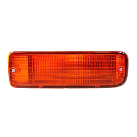 Fits 03-05 4Runner Red//Amber Rear Tail Light Brake Lamp Driver Left Side Set