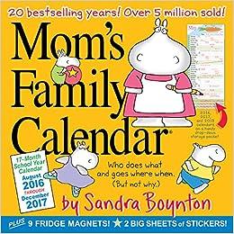 Wall Calendar 2017: Sandra