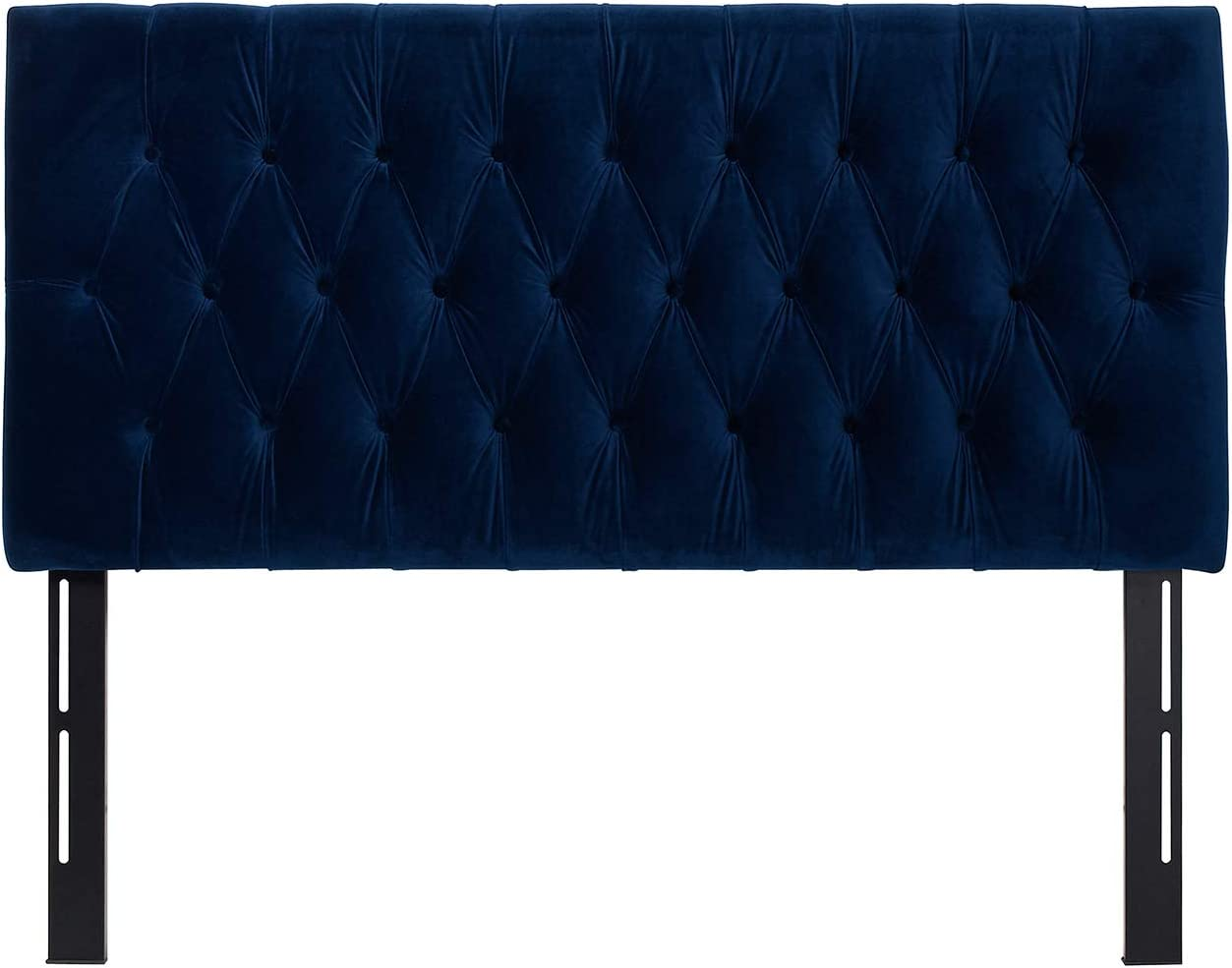 Jennifer Taylor Home Maya Collection Queen Size Size Modern Adjustable Diamond Tufted Headboard