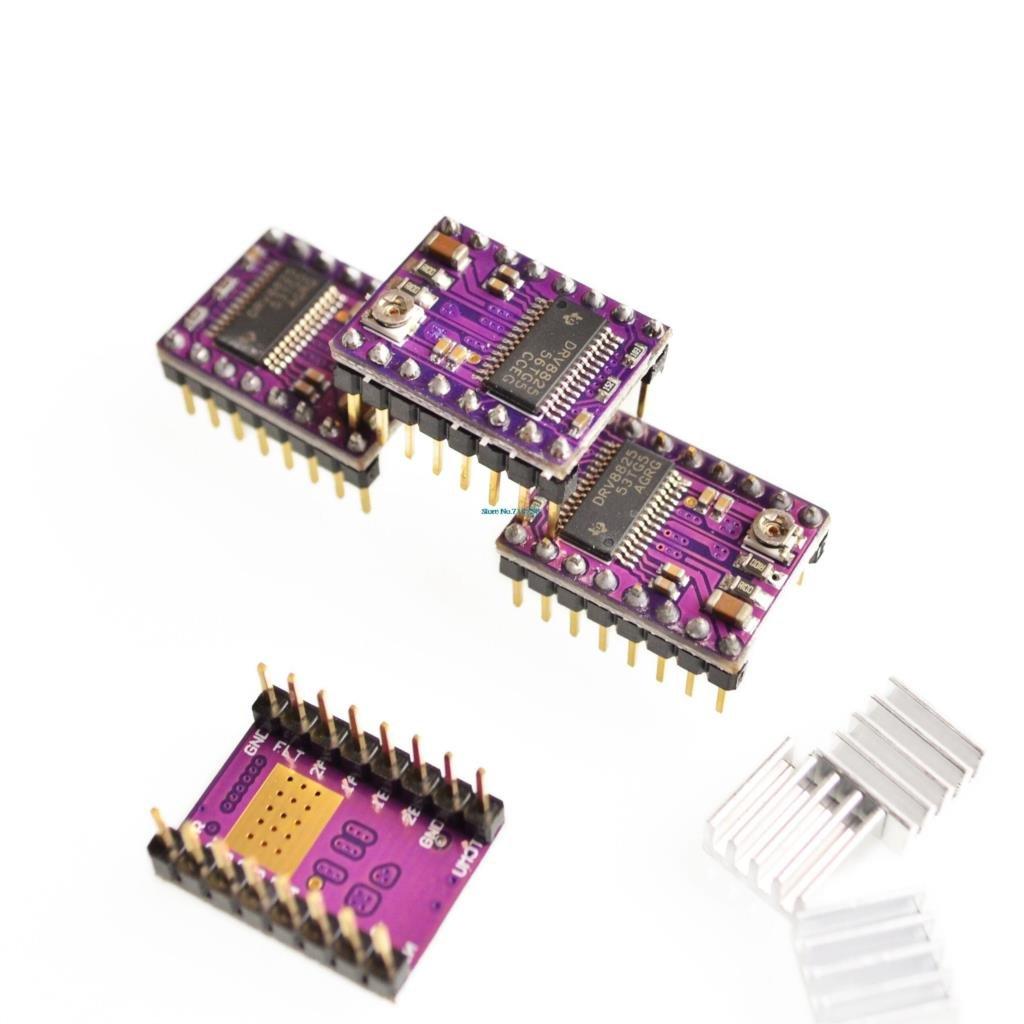 V3.0 Engraver CNC Shield+Board+DRV8825 Stepper Motor Drivers for UNO R3 for Arduino