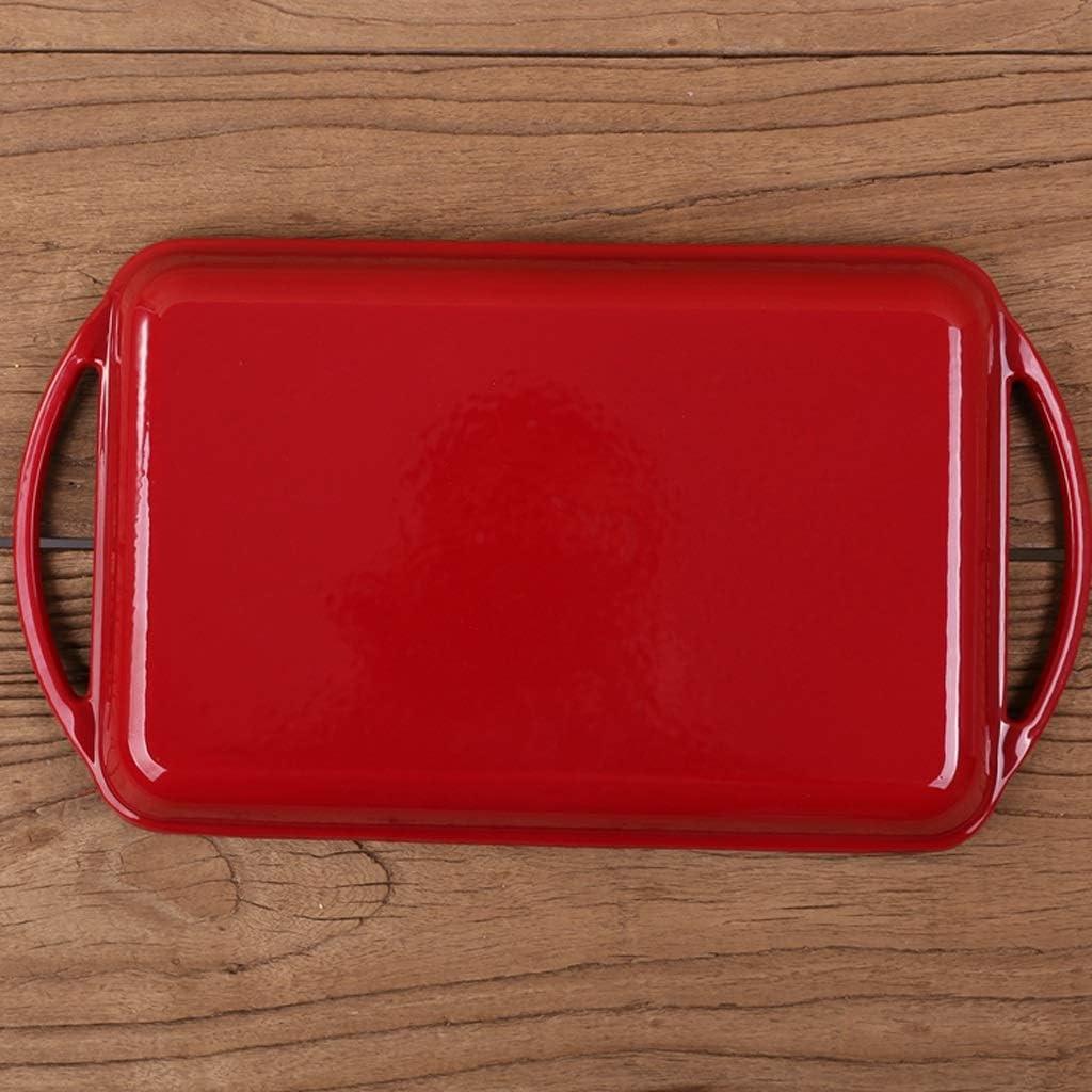 UCYG 12 Pouces Loupe d'écran 3D, iPhone XS/XR/X / 8/8 Plus / 7/7 Plus / 6S, Galaxy S9 + / S9 / S8, Téléphone Mobile écran Pliable vidéo HD Film Support (Color : Black) Red