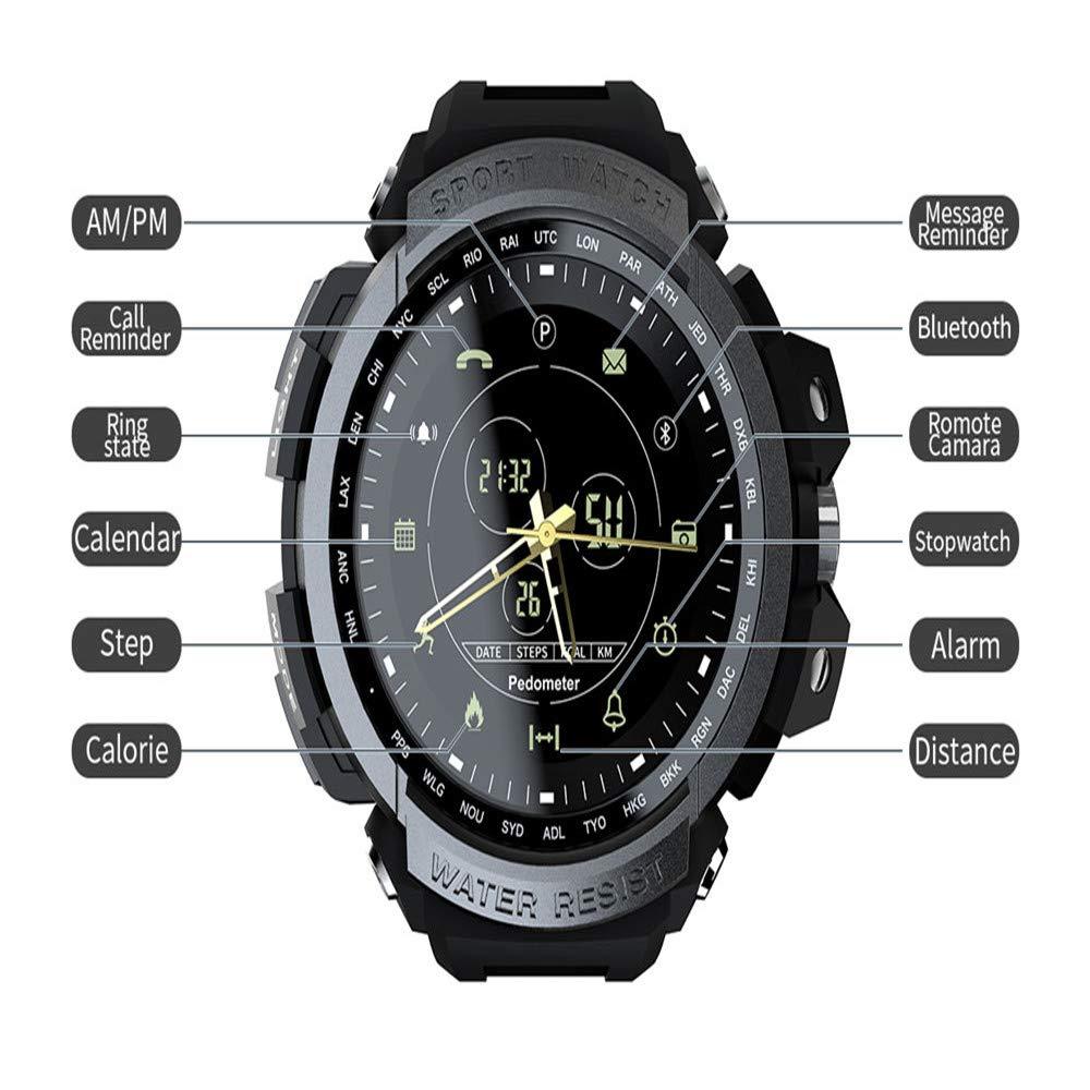 Amazon.com: LARDOO Sport Smart Watch Professional 5ATM ...