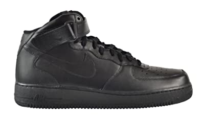 NIKE Mens Air Force 1 High 07 BlackBlackBlack Basketball Shoe 8 Men US  209DZL1GB