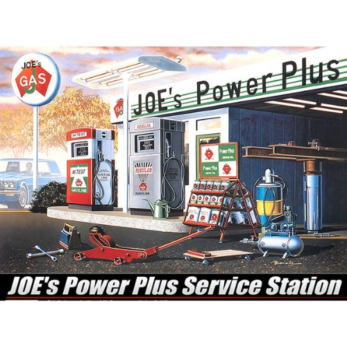 Academy Joe's Power Plus Service Station (Model Power Station)