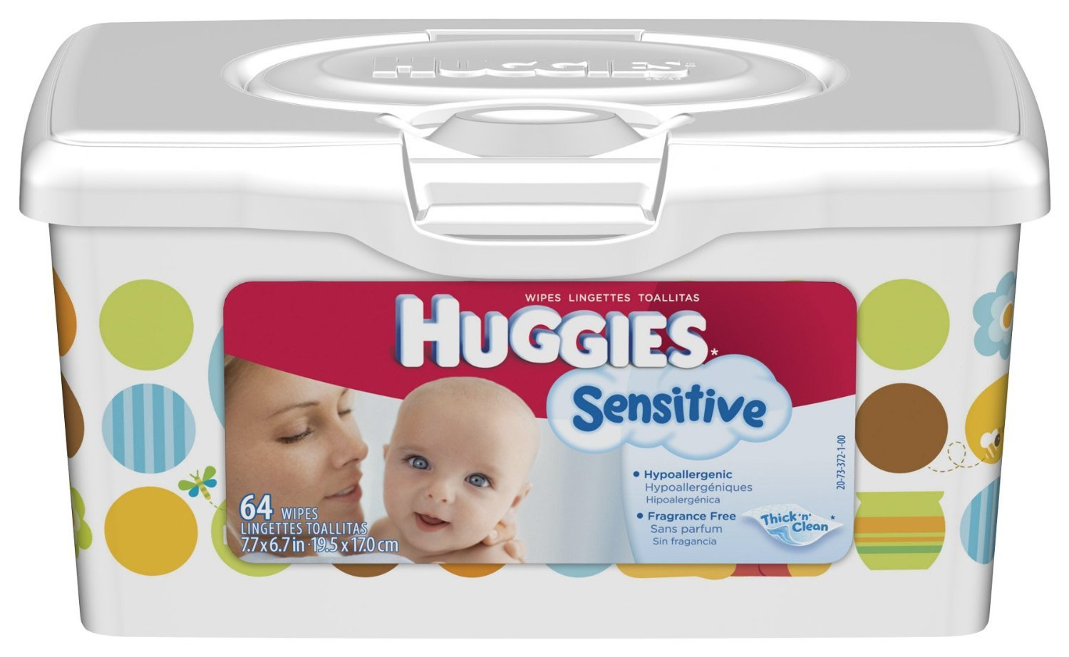 Amazon.com: Huggies Gentle Care Sensitive Baby Wipes, 64 count (pack of 8) (512 wipes): Health & Personal Care