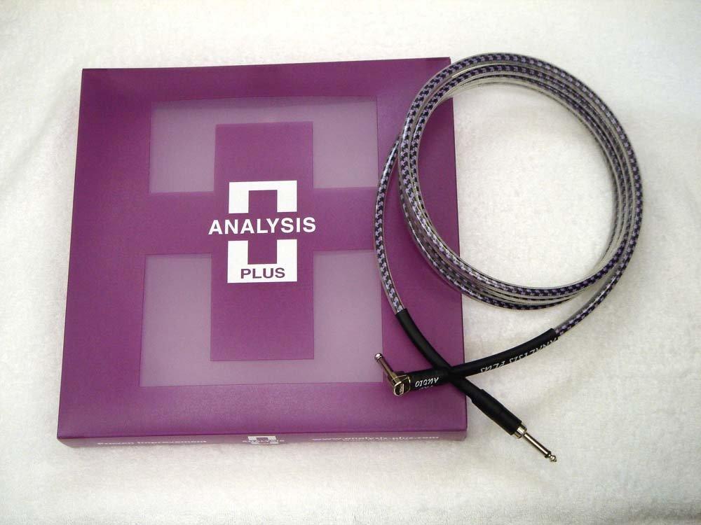 ANALYSIS PLUS アナリシスプラス / Instrument Cable PRO OVAL STUDIO 1.5m SL   B00UMV2UIM