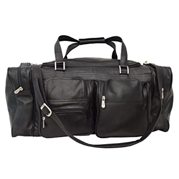 Shop Offer Amazon Footaction Piel 24In Duffel with Pockets Fashionable Online 8duUMS
