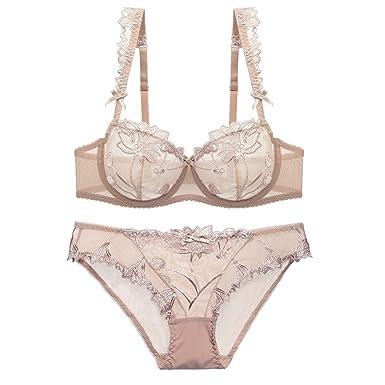 Bra Set Sexy Lace Underwear Set for Women Plus Size Bra Panty Lingerie Set  Babydoll( df461a7f8