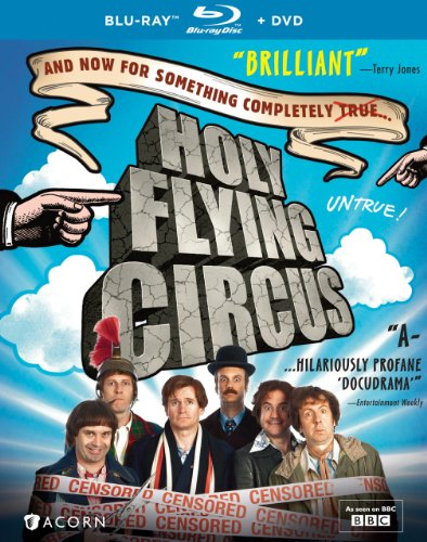 HOLY FLYING CIRCUS BLU-RAY/DVD COMBO