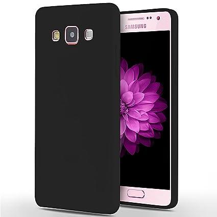 SpiritSun Funda Samsung A5 2015, Soft Carcasa Funda Ultrafina TPU Bumper Suave Silicona Piel Case Ultra Delgado y Ligero Goma Flexible Protectora Caso ...