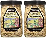 Kirkland eSybYD Marcona Almonds, Roasted and Seasoned with Sea Salt, 17.63 Ounce (2 Pack)