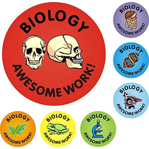 Awesome Work Reward Stickers - Biology