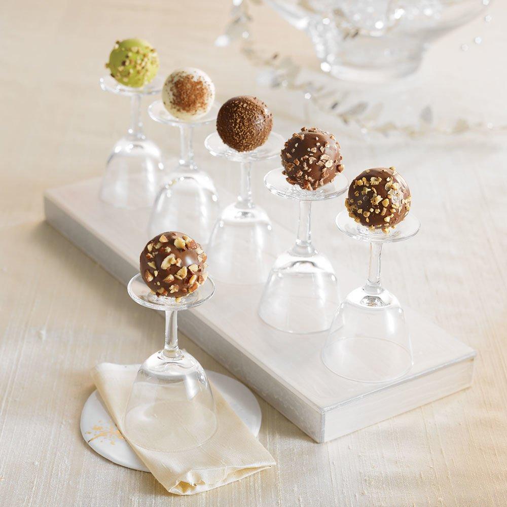 Godiva Chocolatier Flight Chocolate Truffle, Nut Lovers, 6 Count ...