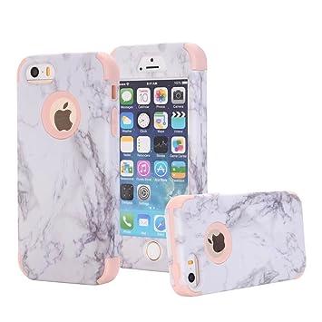 Amazon.com: Funda para iPhone SE, iPhone 5S, iPhone 5, Ranyi ...