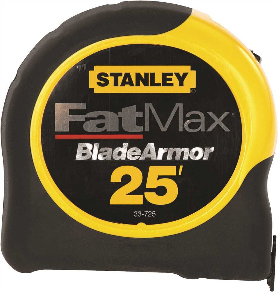 Stanley Hand Tools 33-725 1-1/4'' X 25' FatMax® Tape Measure