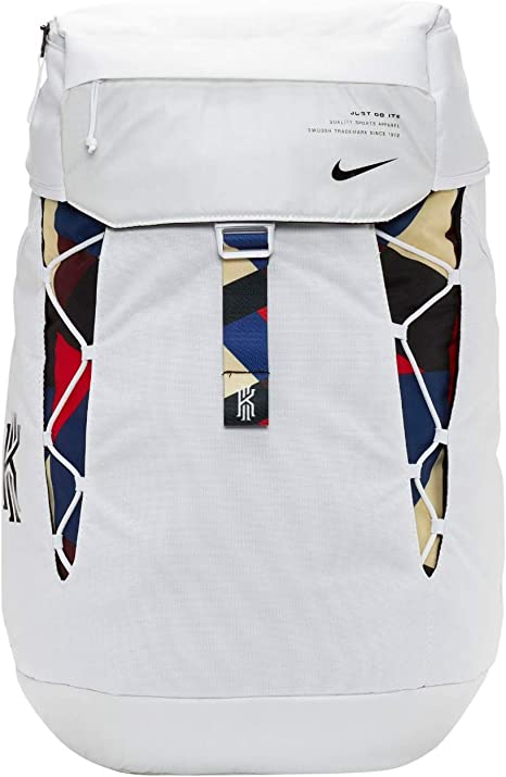 Dominante Oposición costilla  Nike Kyrie Basketball Backpack BA6156-100 White/Black/Black One Size:  Amazon.ca: Clothing & Accessories