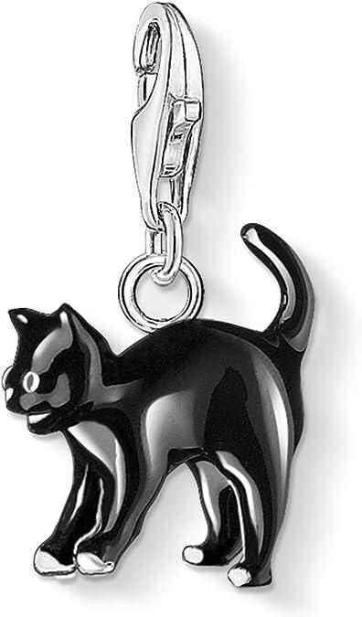 Süße Katze CAT Charms Anhänger Kettenanhänger Karabinerverschluß NEU c677