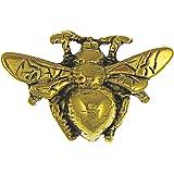 Bumble Bee Gold Lapel Pin