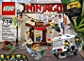 LEGO Ninjago Movie City Chase 70607 Building Kit (233 Piece) by LEGO