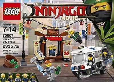 LEGO Ninjago Movie City Chase 70607 Building Kit (233 Piece) by LEGO