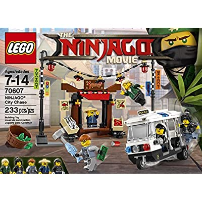 LEGO Ninjago Movie City Chase 70607 Building Kit (233 Piece): Toys & Games