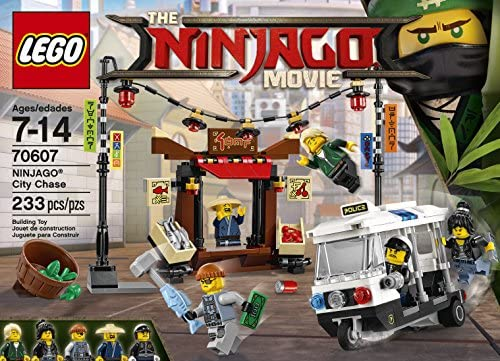 70629,70607 Bundle Lego Ninjago Movie Piranha Attack /& Ninjago City Chase