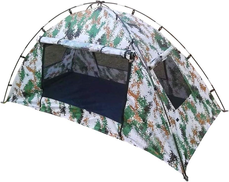 Gocher Tente de Camouflage num/érique 1-2 Personnes Tente de Soldat /Étanche au Vent Camo Simple Tente pour la randonn/ée en Plein air