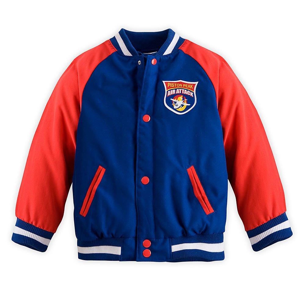 Disney Store Planes Fire & Rescue Varsity Jacket Size XXS Extra Extra Small 2 2T
