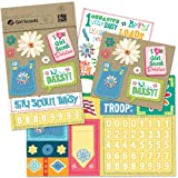 K&Company Girl Scout Daisy Scrapbook Kit Flip Pack