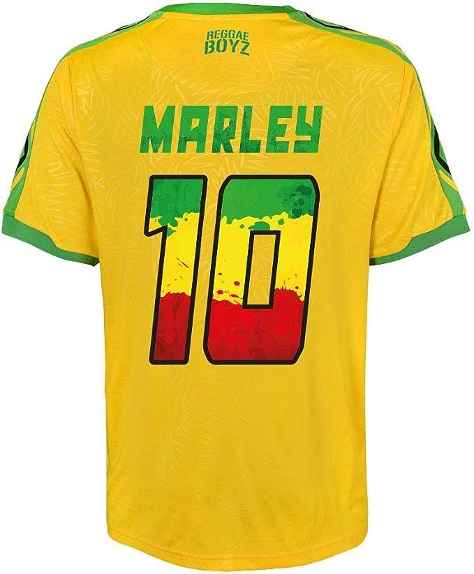 Umbro Jamaica Home Marley 10 Camisa 2018 2019 (Estampado ...