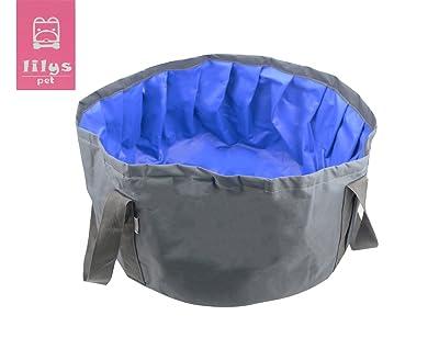 LILYS PET Portable Folding Bath tub Swimming Pool