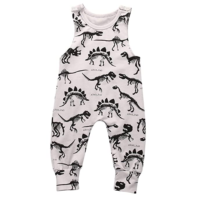 37bb0a1b0 Amazon.com  Cute Dinosaur Onesies Newborn Outfit Baby Boy Girl Onsie Set  Bodysuits Short Sleeve Romper Jumpsuit Infant Clothes  Clothing