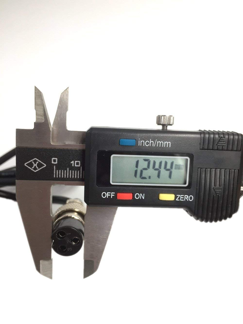 TangsFire Cargador de bater/ía de litio para Ebike Powerboard Mini 3 dientes, m/áx. 42 V, 2 A